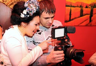 Видеосъемка свадьбы, свадебного дня