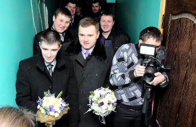 Видеооператор на свадьбу - съемка свадебного дня