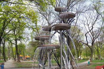 Молодежный парк - красивое место для видеосъемки в Харькове