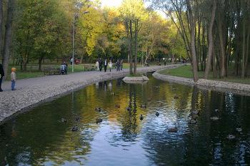Саржин яр - красивый парк, достойный выбор для свадьбы в Харькове.