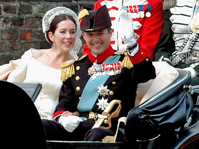 Принца Фредерика и Мэри Дональдсон
