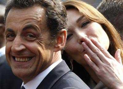 Брак Николя Саркози и Карлы Бруни