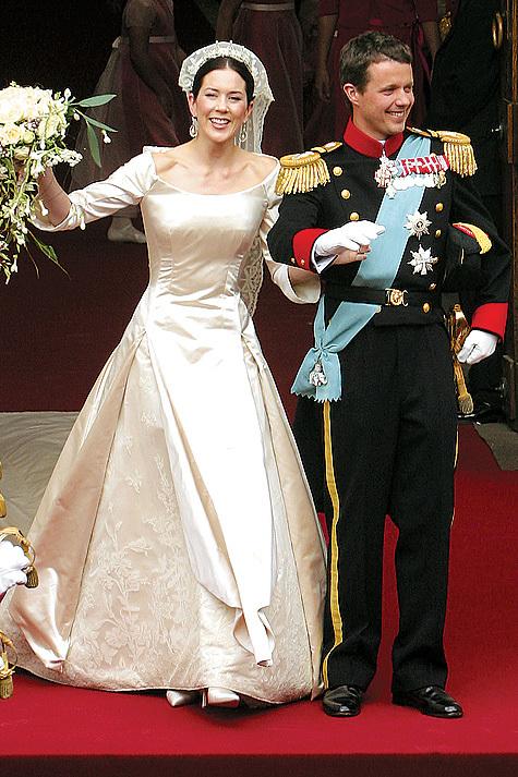 Свадьба принца Фредерика и Мэри Дональдсон
