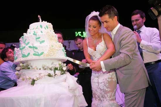 Свадебный торт Ани Лорак