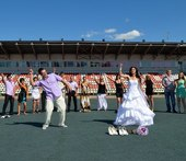 Креативный танцевальный свадебный клип - свадебное видео Харьков